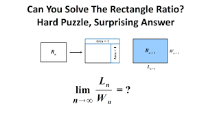 hard geometry problem surprising answer involving pi the hard geometry problem surprising answer involving pi the rectangle ratio puzzle