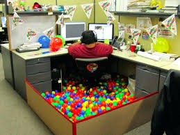ideas for decorating office cubicle. Decorate Office Cubicle For Halloween Ideas Cube Birthday Image Of Nice Decorations Decorating