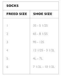 Particular Freed Of London Leotard Size Chart Jazz Shoe Size