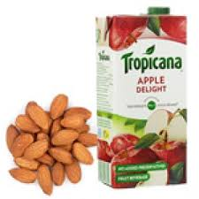 tropicana juice with almonds diwali gifts hyderabad india