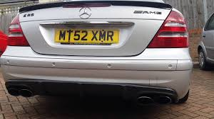 Awesome Engine sound 2003 MERCEDES E55 AMG (Cats removed) - YouTube