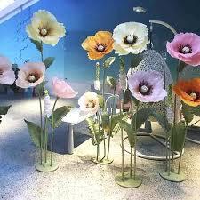 Paper Flower Centerpieces At Wedding Paper Flowers Centerpieces For Weddings Auroravine Com