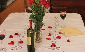 valentines day romantic dinner for two ribeye steaks with