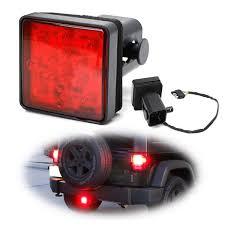 3/<b>4</b>/5 2-Inch Towing Hitch <b>Receiver LED</b> Tail/Brake <b>Light</b> ...