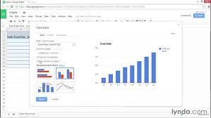 Creating Charts In Google Sheets