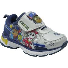 Paw Patrol Light Up Shoes Walmart Paw Patrol Toddler Boys Athletic Shoe Walmart Com