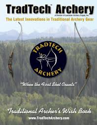 Tradtech Archery Traditional Archers Wish Book By Lancaster