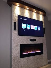 napoleon efl50h linear wall mount electric fireplace 50 for cute long electric fireplace