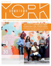 Graphic Design In York Pa Downtown York Magazine Fall Holiday 2018 By Downtown York
