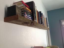 sturdy floating bookshelves. Picture Of SuperSturdy Floating Shelf From Barn Wood Inside Sturdy Bookshelves
