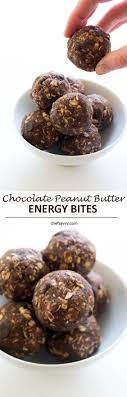 5 Ingredient Peanut Butter Energy Bites Recipe Peanut butter.
