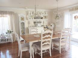 White Dining Room Chandelier