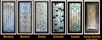 wrought iron front doorsCustom Wrought Iron Front Door Conversions