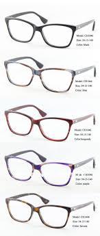 Wholesale Unisex's classical large acetate optical eyeglasses frames  Designer spectacle frames in hight quality