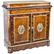 Antique French Inlaid Kingwood Cabinet, circa 1920 For Sale at 1stdibs