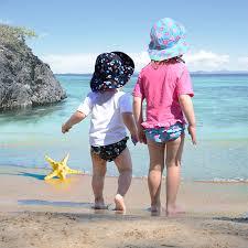 Iplay Sun Hat Size Chart My Swim Baby Sun Hats Reversible