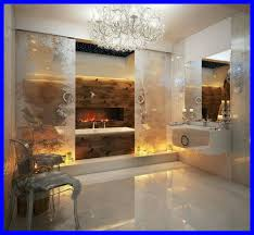 powder room bathroom lighting ideas. Bathroom Lighting Glamorous The Best Hidden Tub And Fireplace Behind Frosted Glass Powder Room Ideas