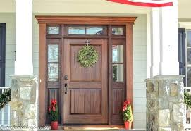 wooden front doors. Fabulous Wooden Front Doors Contemporary Wood Entry Pertaining To Mahogany By Custom Garage Remodel 3 . O