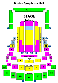 Chicago Symphony Seating Chart Meticulous Chicago Symphony Center Seating Cso Seating Chart