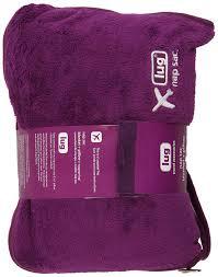 Ipod Pillow Lug Nap Sac Blanket And Pillow Plum Purple Amazonca Luggage Bags