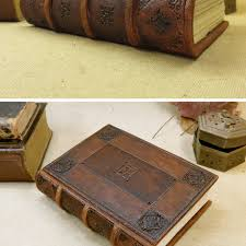 brown leather journal blank