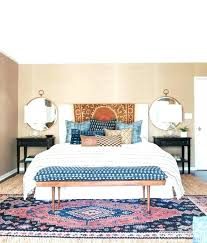 remarkable bedroom rug placement fine bedroom rug placement intended fine bedroom rug placement intended small room