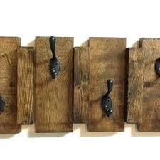 Wall Mounted Wood Coat Rack Adorable Wall Rack With Hooks Wall Rack Hooks Rustic Wood Wall Mount Coat