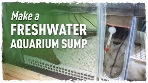 Freshwater Aquarium Sump Plumbing Design Make A Freshwater Aquarium Sump 150g Redo Pt 1