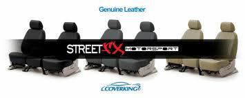 coverking genuine leather custom seat