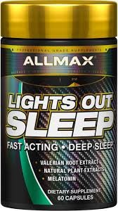 Lights Out Sleep Allmax Review Allmax Nutrition Lights Out Sleep Melatonin Gaba
