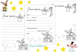 Coloring pages are a stimulating method to obviously clarify your kids. Free Santa Letter Printable Template Projects With Kids