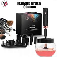 ns5 makeup brush cleaner convenient silicone make up brushes cleanser cleaning tool machine
