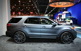 2011 Ford Explorer By Stitchcraft Interiors Front Three Quarters ...