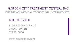 garden city treatment center. Modren Treatment GARDEN CITY TREATMENT CENTER INC To Garden City Treatment Center I