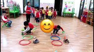 Trò chơi vận động cho trẻ mầm non chủ đề Giao thông - YouTube
