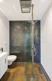 Create open bathroom spaces and position the bathroom shower just about  anywhere. No wall plumbing required.