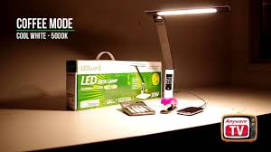 ledware 10w dimmable led desk lamp 4 colour temperatures progressive dimming