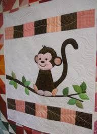 Flannel Monkey Baby Blanket Quilt   Sew Fun Quilting Kids ... & Katie's Quilts and Crafts: Monkey Baby Quilt Adamdwight.com
