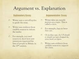 writing an argumentative essay the united states decision to drop  explanation explanatory essay writer uses a controlling idea to guide the essay