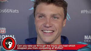 Robert Finke Explains Wrist Injury ...