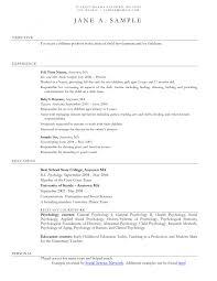 Daycare Resume Objective child care resume objectives Savebtsaco 1