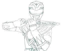 Coloring Pages Of Power Rangers Power Ranger Jungle Fury Coloring