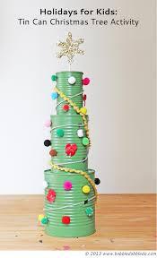 Tin Can Christmas Tree Activity   Christmas tree, Activities and ...