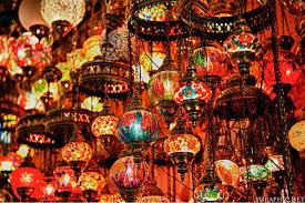 turkish mosaic lantern