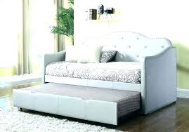 leather daybeds with trundle faux leather daybed white real leather daybed with trundle