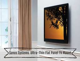 s systems ll11 b1 ultra thin flat panel tv mount