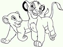 Small Picture The 58 best images about Coloring PagesLineArt Disney Lion King