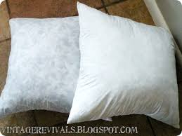 How To Make Your Own Pillow Inserts