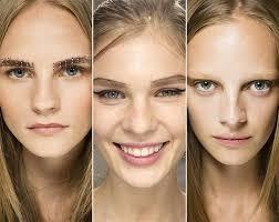 spring summer 2016 makeup trends expressive eyebrows