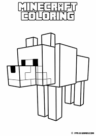 Minecraft Coloring Pages For Kids To Print Color